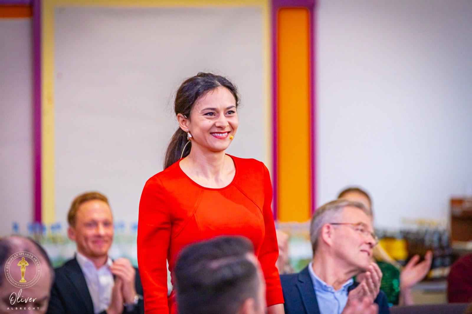 Speakerin Anamaria Hager